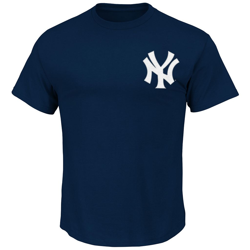 Men's Majestic New York Yankees Didi Gregorius Player Player Name and Number Tee