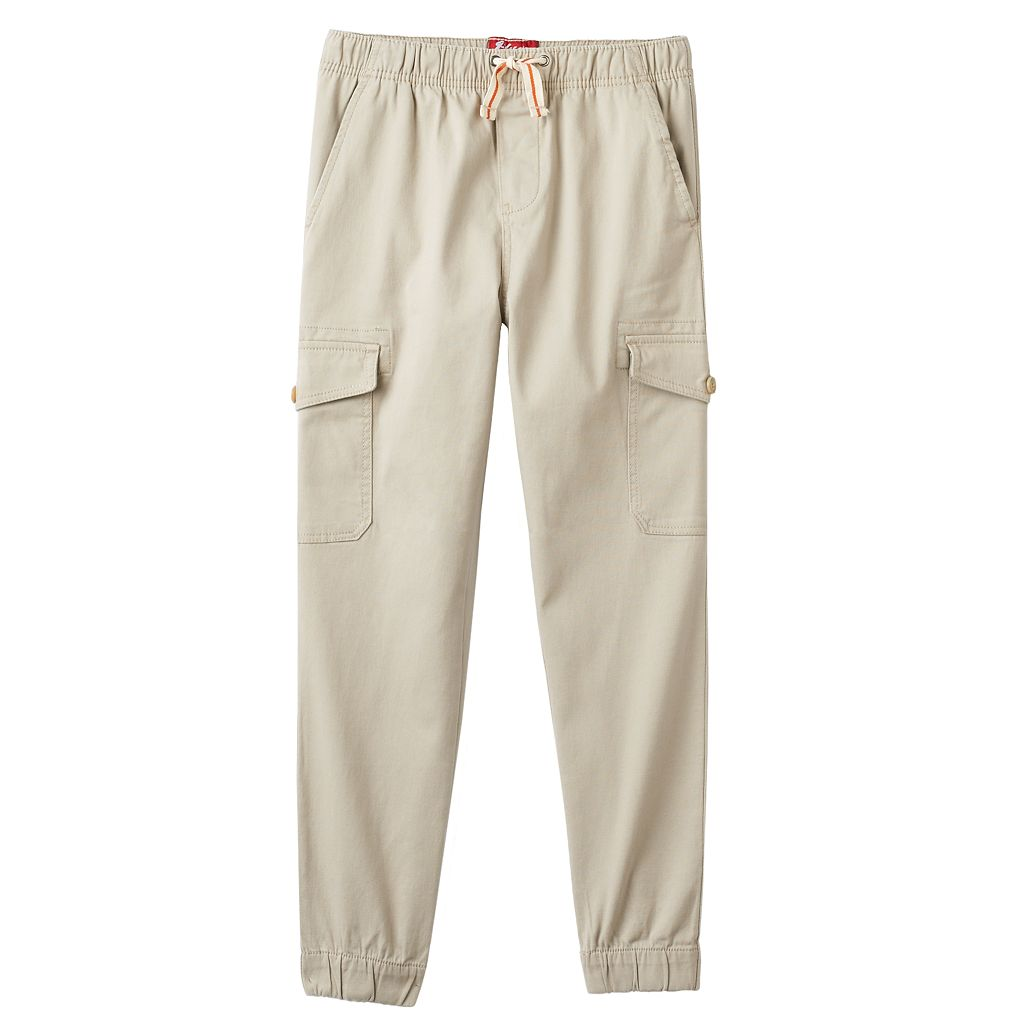 Boys 8-20 Plugg Stretch Twill Cargo Pants