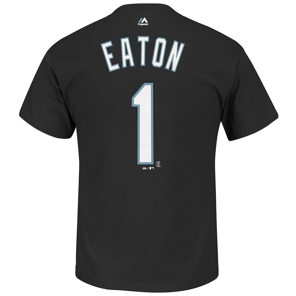 Men's Majestic Chicago White Sox Adam Eaton Player Name and Number Tee