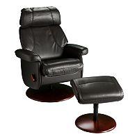 Swivel Glider Rocker Recliner Chair & Ottoman 2-piece Set