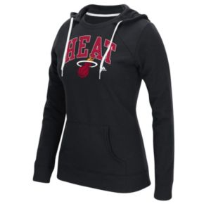 Women's adidas Miami Heat Outline Big Arch Hoodie