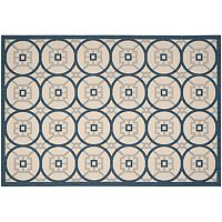 Safavieh Courtyard Hopscotch Indoor Outdoor Rug