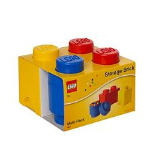 LEGO 3 pc Storage Brick Multi-Pack by Room Copenhagen