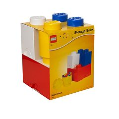 LEGO 4-pc. Storage Brick Multi-Pack by Room Copenhagen