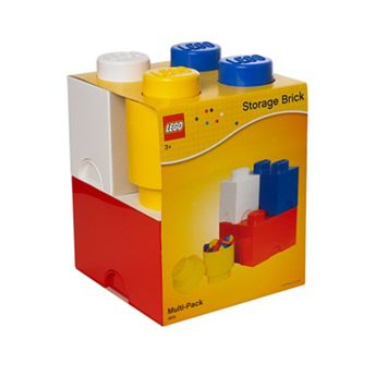 LEGO 4-pc. Storage Brick Multi-Pack by Room Copenhagen
