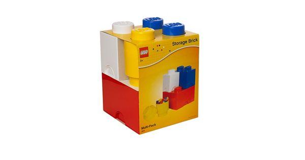 Lego 4 Pc Storage Brick Multi Pack By Room Copenhagen