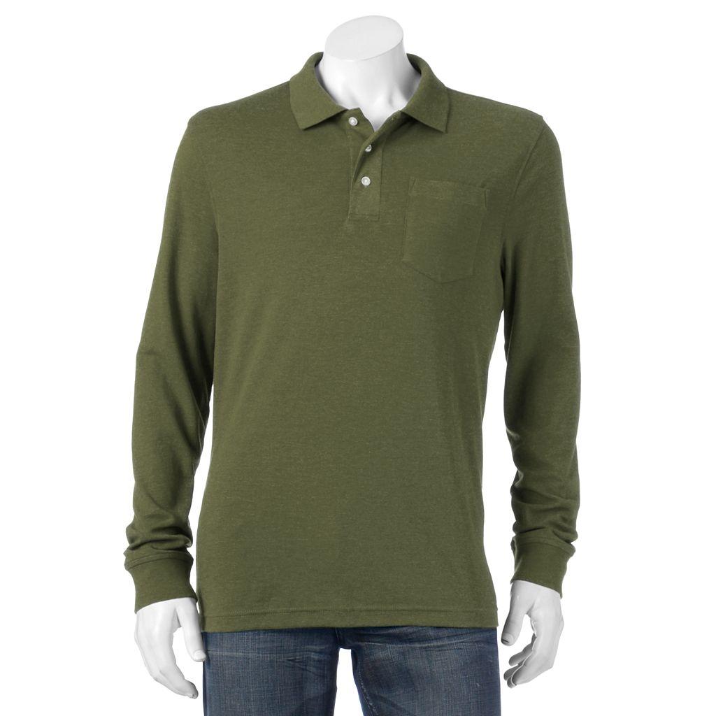Men's Croft & Barrow® Classic-Fit Easy-Care Interlock Polo