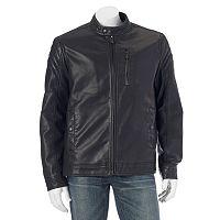 Men's Apt. 9® Modern-Fit Faux-Leather Jacket