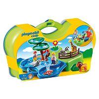 Playmobil Take Along Zoo & Aquarium Playset - 6792