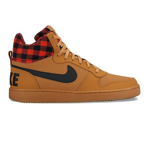 new arrivals dade5 5429c Nike Court Borough Mid Premium Mens Basketball Shoes