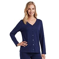 Women's Jockey Pajamas: Cotton Sleep Cardigan