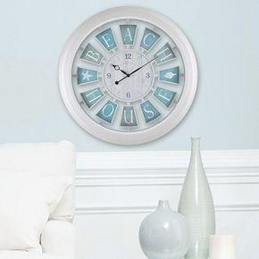 Firstime Quot Beach House Quot Wall Clock Kohls
