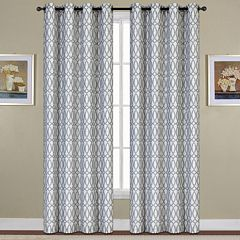 United Curtain Co. Oakland Ovals Jacquard Window Curtain