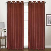 United Curtain Co. Herringbone Blackout Window Curtain
