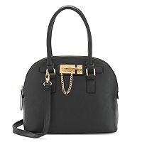 Apt. 9® Abell Slide Lock Domed Satchel