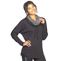 Women's Colosseum Double Tempo 2.0 Cowlneck Top