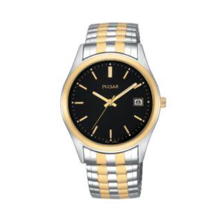 Pulsar Men's Two Tone Dress Watch - PXH428