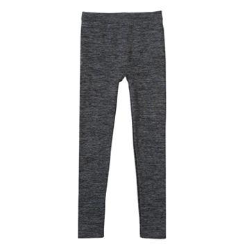Girls 7-16 Marled Fleece-Lined Leggings