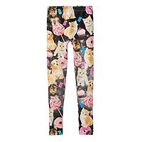 Girls 7-16 Cosmo Critter Fleece-Lined Leggings