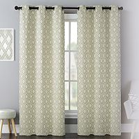 United Curtain Co. 2-pack Mystique Celestial Curtains