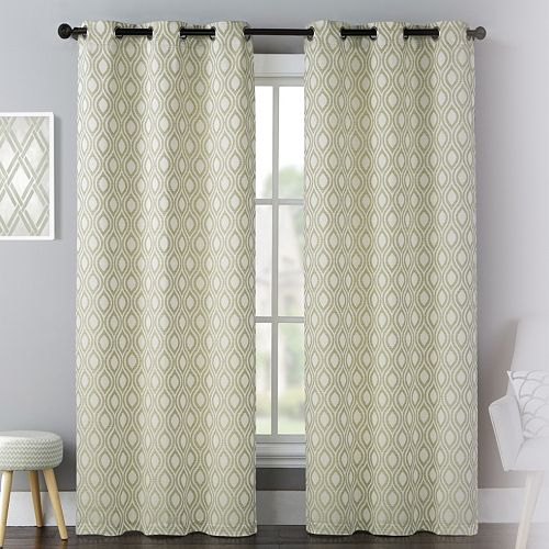 United Curtain Co. 2-pack Mystique Celestial Window Curtains