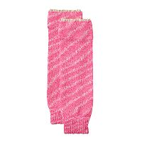 Girls 4-16 Marled & Crocheted Cuff Legwarmers