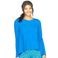 Women's Colosseum Waterfall High-Low Yoga Top