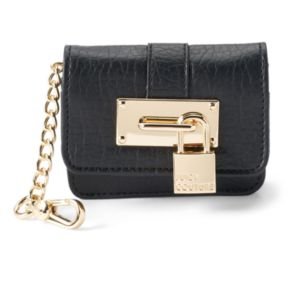 Juicy Couture Lock Pouch Key Chain