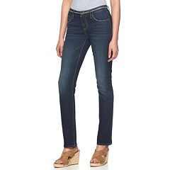 Women's Apt. 9® Modern Fit Straight-Leg Jeans