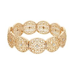 LC Lauren Conrad Filigree Stretch Bracelet