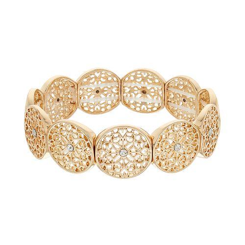 LC Lauren Conrad Filigree Stretch Bracelet