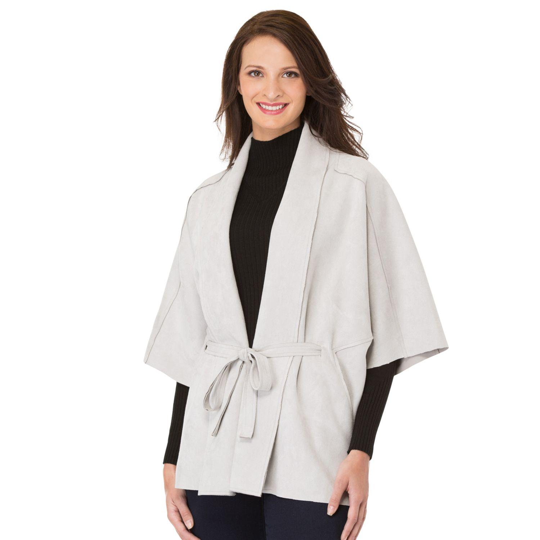Womens Haggar Dolman Sleeve Jacket