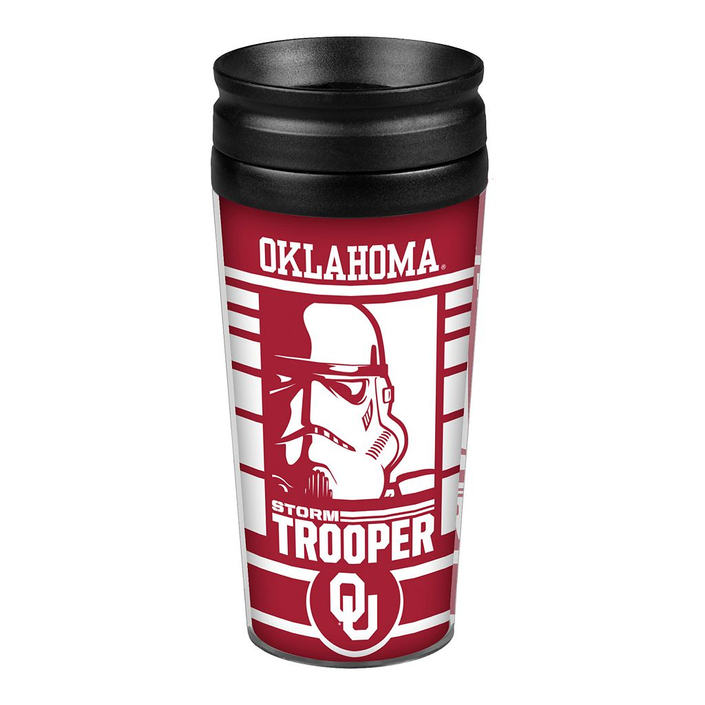 Boelter Oklahoma Sooners Star Wars 14-Ounce Travel Tumbler