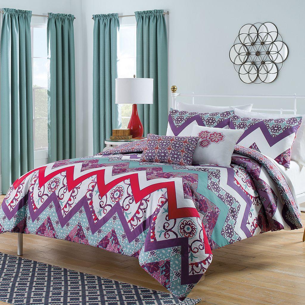 Vue Bohemia 5-piece Reversible Bed Set
