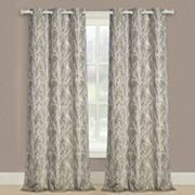 United Curtain Co. 2-pack Taylor Twig Floral Window Curtains