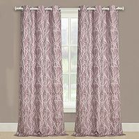 United Curtain Co. Taylor Twig Floral Window Curtain Set
