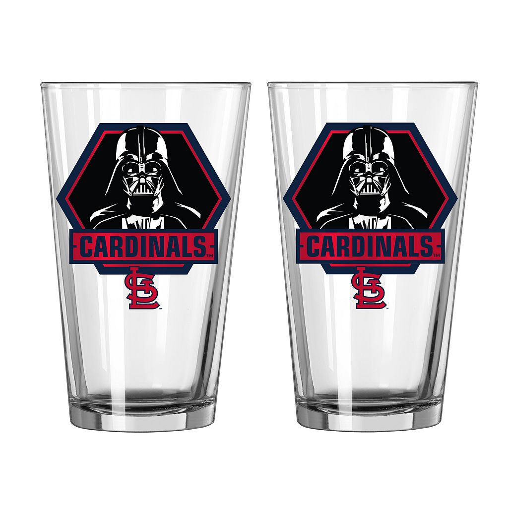 Boelter St. Louis Cardinals Star Wars Darth Vader 2-Pack Pint Glasses