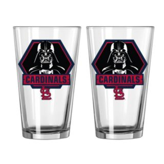 Boelter St. Louis Cardinals Star Wars Darth Vader 2-Pack Pint Glasses