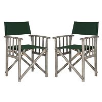 Safavieh Laguna Director Patio Chair 2 pc Set