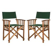 Safavieh Laguna Director Patio Chair 2-piece Set