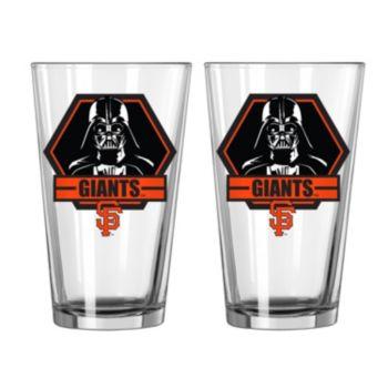 Boelter San Francisco Giants Star Wars Darth Vader 2-Pack Pint Glasses