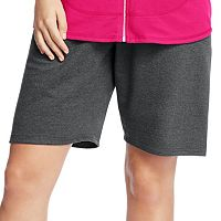 Plus Size Just My Size French Terry Bermuda Shorts