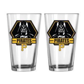 Boelter Pittsburgh Pirates Star Wars Darth Vader 2-Pack Pint Glasses