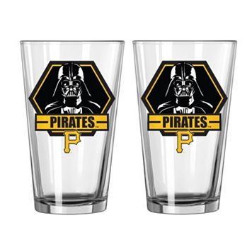 Boelter Pittsburgh Pirates Star Wars Darth Vader 2-Pack Pint Glasses