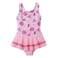 Toddler Girl Jacques Moret Glitter Ballerina Skirtall Leotard
