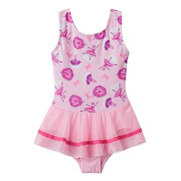 Toddler Girl Jacques Moret Glitter Ballerina Skirtall Leotard