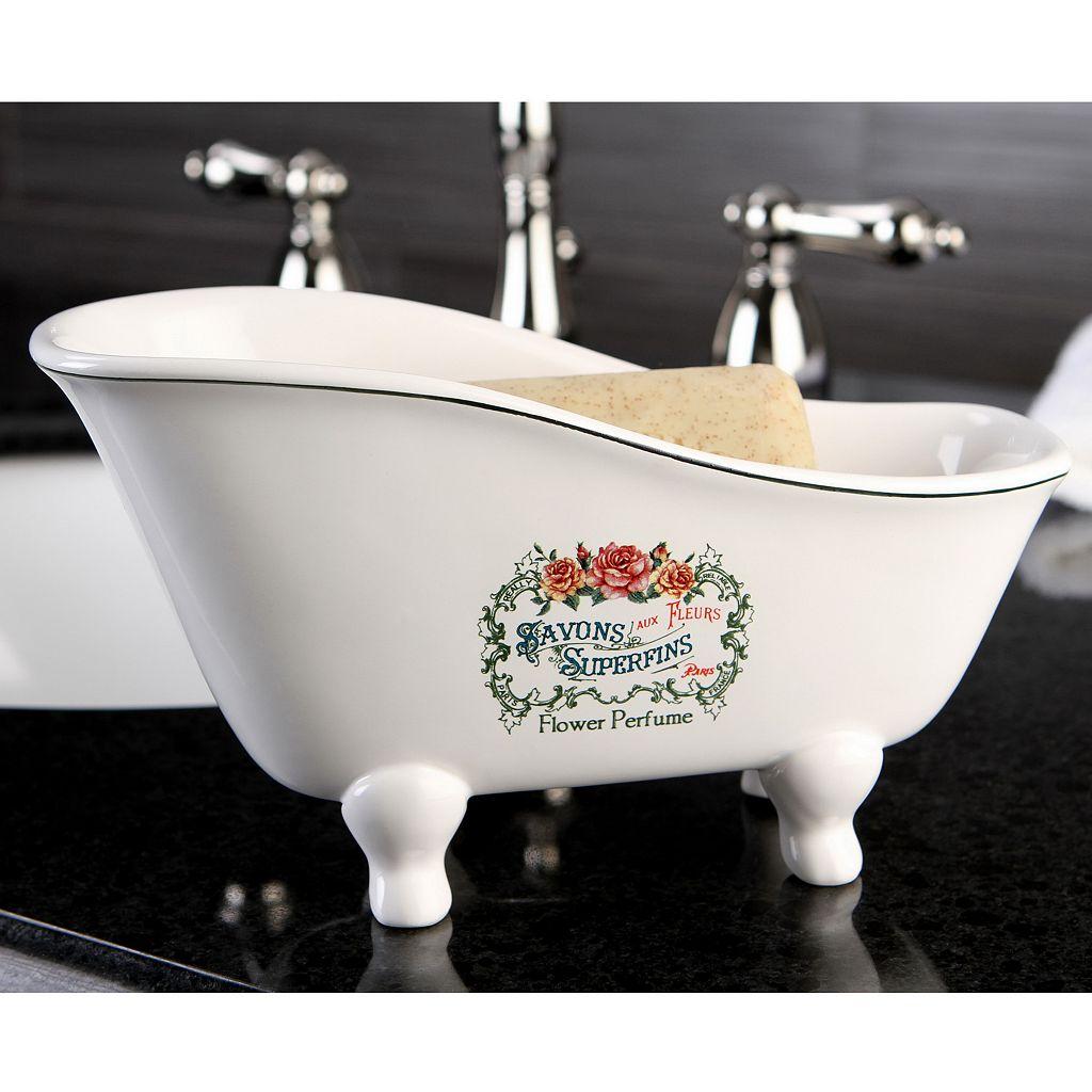 Savons Aux Fleurs Claw foot Soap Dish