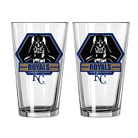 Boelter Kansas City Royals Star Wars Darth Vader 2-Pack Pint Glasses