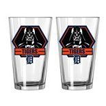 Boelter Detroit Tigers Star Wars Darth Vader 2-Pack Pint Glasses