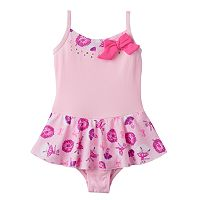 Toddler Girl Jacques Moret Glitter Ballerina Cami Skirtall Leotard